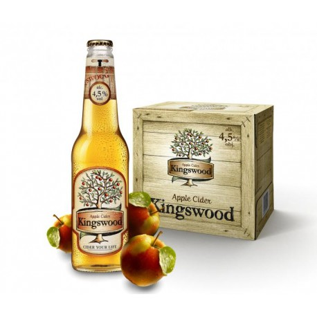 Kingswood Cider (12 x 0,4 l bottled)