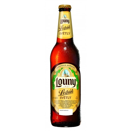 Louny Pale Lager (20 x 0,5 l bottled)