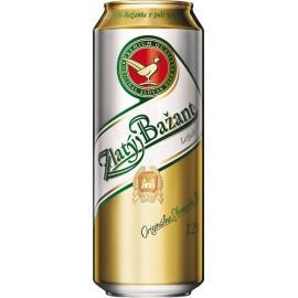 Zlatý Bažant Pivo světlý ležák (12 x 0,5 l plechovkové)