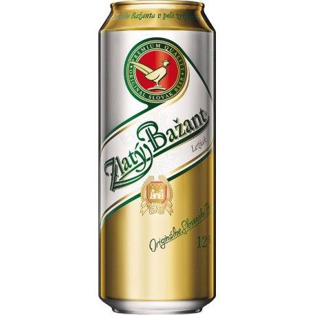 Zlatý Bažant Pale Lager (12 x 0,5 l canned)