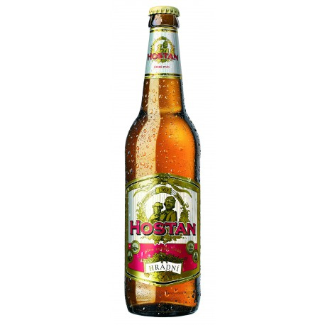 Hostan Hradní (20 x 0,5 l bottled)
