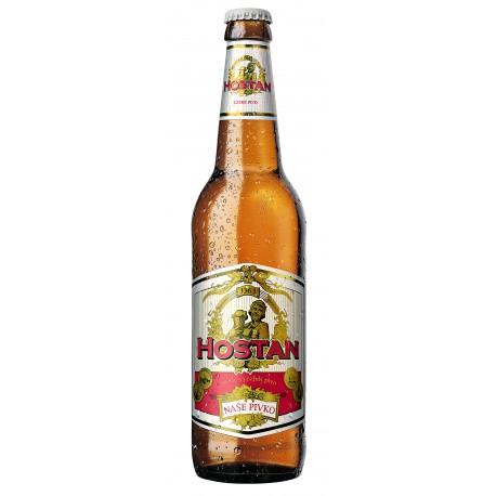 Hostan Naše Pivko (20 x 0,5 l bottled)