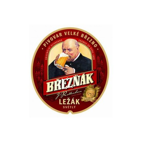 Březňák Pale Lager (20 x 0,5 l bottled)
