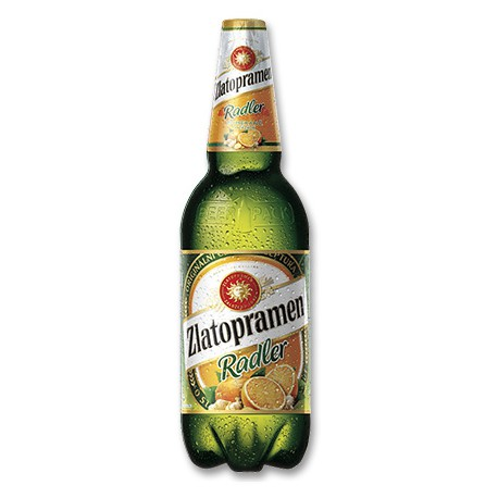 Zlatopramen Radler Orange and Ginger (6 x 1,5 l PET)