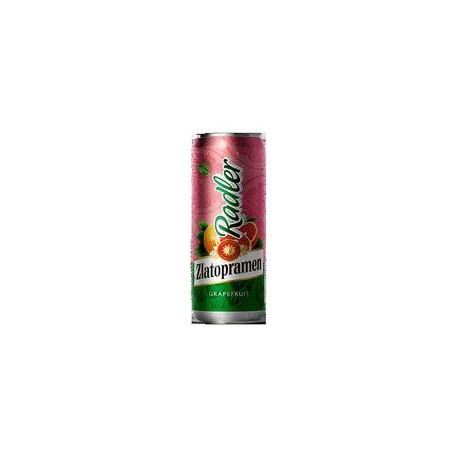 Zlatopramen Radler Grapefruit (24 x 0,5 l canned)
