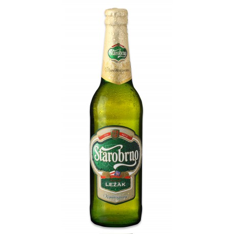 Starobrno Lager (24 x 0,33 l bottled)