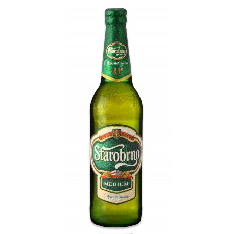 Starobrno Medium (20 x 0,5 l bottled)