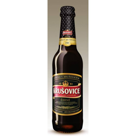 Krušovice Černé (20 x 0,5 l bottled)