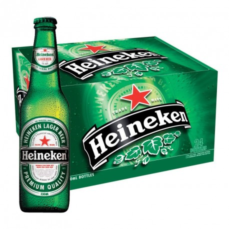 Heineken (24 x 0,33 l lahvové)