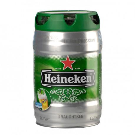 Heineken Draught (5 l canned)