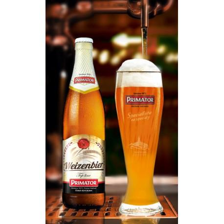 Primátor Weizenbier kvasnicové - special (20 x 0,5 l bottled)