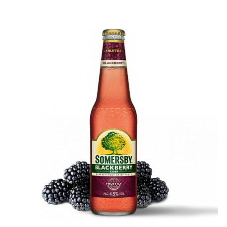 Somersby Blackberrry cider (24 x 0,33 l bottled)