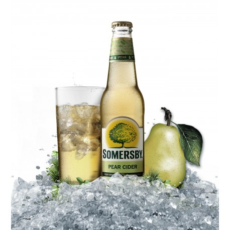 Somersby Pear cider (24 x 0,33 l bottled)