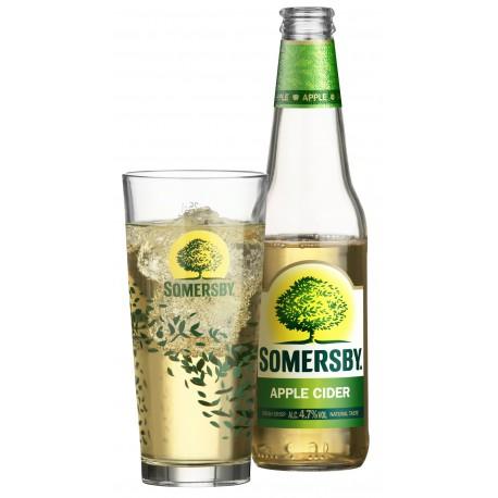 Somersby Apple cider (24 x 0,33 l bottled)