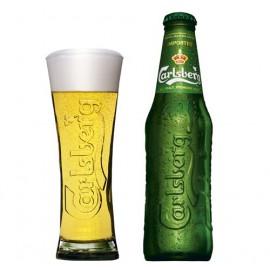 Carlsberg světlý ležák (24 x 0,33 l lahvové)