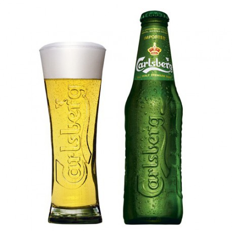 Carlsberg Pale Lager (24 x 0,33 l bottled)
