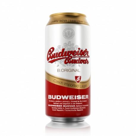 Budweiser Budvar B:Original (24 x 0,5 l plechovkové)