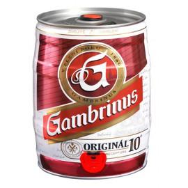 Gambrinus Originál 10 (5 l plechovkové)