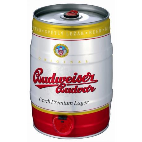 Budweiser Budvar B:Original (5 l plechovkové)