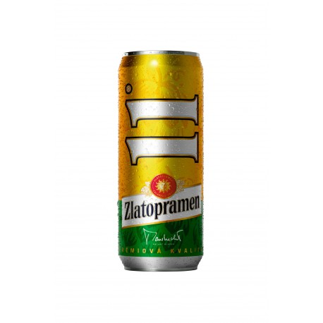 Zlatopramen 11 Pale (24 x 0,5 l canned)