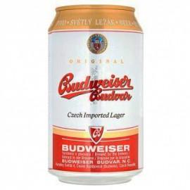 Budweiser Budvar B:Original (24 x 0,33 l plechovkové)