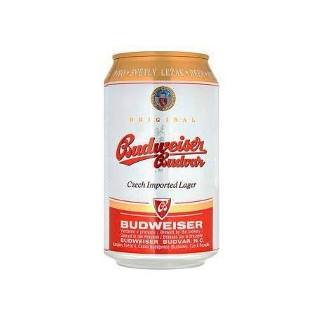 Budweiser Budvar B:Original (20 x 0,33 l canned)