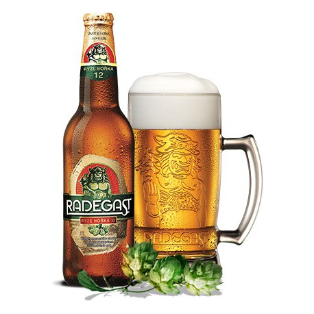 Radegast purely bitter 12 (20 x 0,5 l bottled)