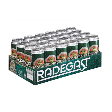 Radegast original (24 x 0,5 l canned)