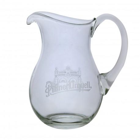 Beer pitcher engraved Pilsner Urquell 1 l
