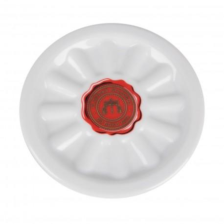 Porcelain Pilsner Urquell beer mat - seal