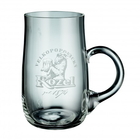 Engraved Kozel Pint Glass 0,5 l