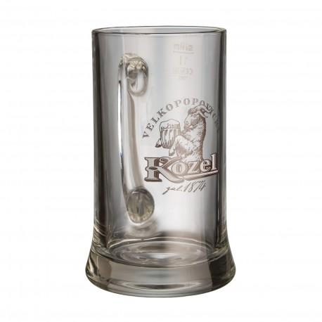 Kozel beer mug 1 l
