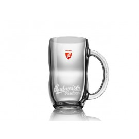 Budweiser glass pitcher Original 0,5 l with a handle