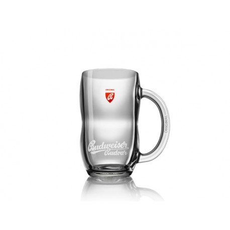 Budweiser glass pitcher Original 0,3 l with a handle