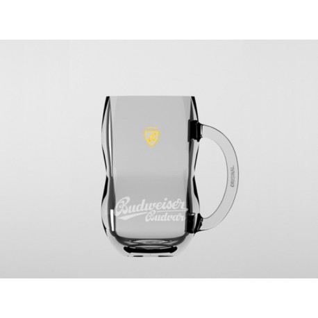 Budweiser Budvar glass pitcher 0,3 l B:SPECIAL