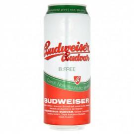 Budweiser Budvar B:Free (24 x 0.5 l plechovkové)