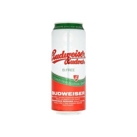 Budweiser Budvar B:Free (24 x 0,5 l canned)