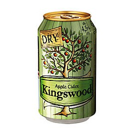 Kingswood Dry Cider (24 x 0.33 l canned)