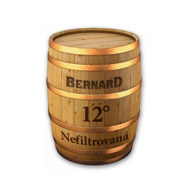 Bernard unfiltered lager 12° (20 l keg)