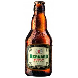 Bernard pale lager 12° (20 x 0.33 l bottled)