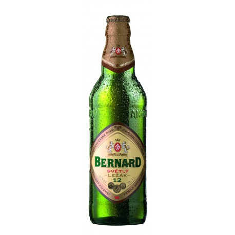 Bernard pale lager 12° (20 x 0.5 l bottled)