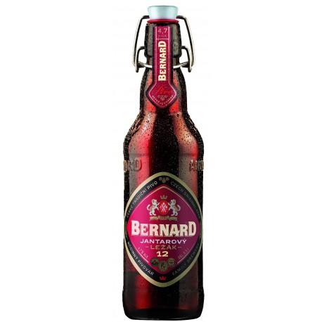 Bernard Amber lager (20 x 0.5 l bottled)