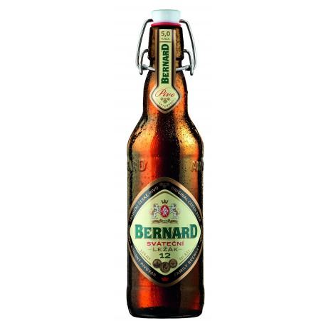 Bernard Feast lager (20 x 0.5 l bottled)