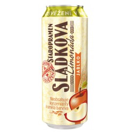 Staropramen Brewers´ lemonade  Apple (24 x 0.5 l canned)
