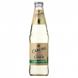 Carling Cider Lime & Mint (24 x 0.33 l bottled)
