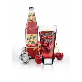 Carling Cider Cherry (24 x 0.33 l bottled)