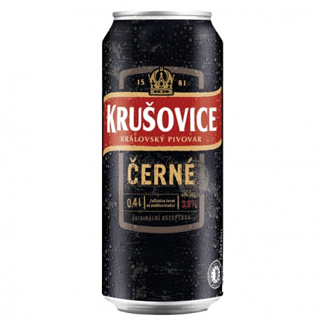 Krusovice Black (24 x 0.4 l canned)