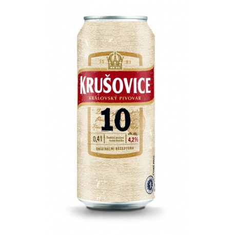 Krusovice Desitka (24 x 0.4 l canned)