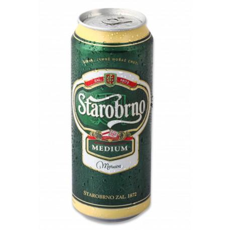 Starobrno Medium (24 x 0.4 l canned)