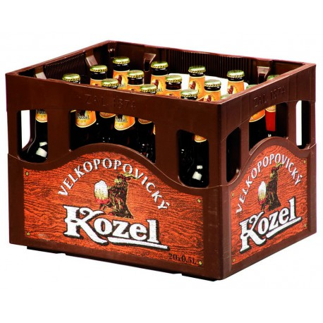 Velkopopovický Kozel Pale (20 x 0,5 l bottled)